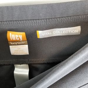 Lucy Pants - Lucy tech vital collection grey athleisure wear sm